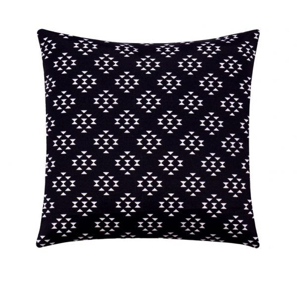 Black and White Aztec Pillow Case
