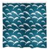 Calm WavesShower Curtain