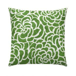 Green White Pillow Case