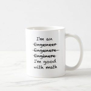 I'm good with math (Engineer) Ceramic Mug