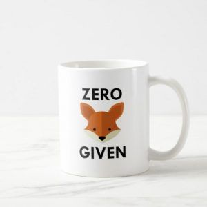 Zero Fox Given Ceramic Mug