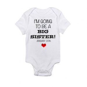 Big Sister Big Brother - Pregnancy Announcement Baby Onesie