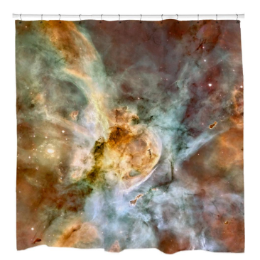 Carina Nebula Close-UpShower Curtain