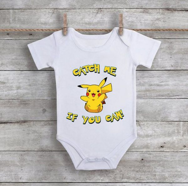 Catch Me If You CanBaby Onesie