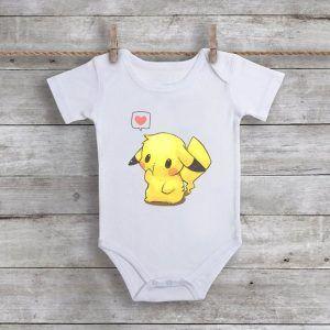 Cute PikachuBaby Onesie