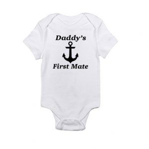 Daddy's First Mate Baby Onesie
