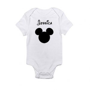 Disney Custom Personalized NameBaby Onesie