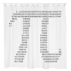 Geeky Pi Shower Curtain