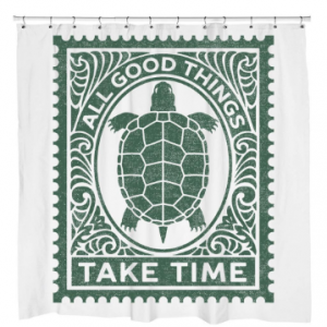 Good Things Turtle Shower Curtain