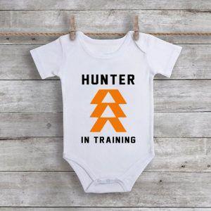 Hunter In TrainingBaby Onesie