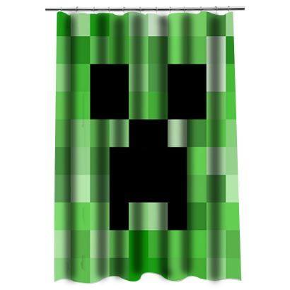Minecraft 1Shower Curtain
