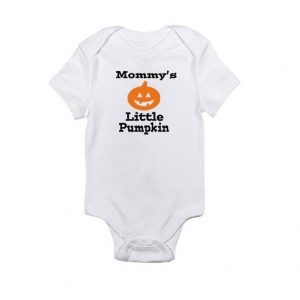Mommy's Little Pumpkin - Halloween Baby Onesie