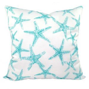 Sea Star Aqua Pillow Case