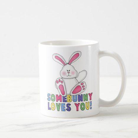 SomeBunny Loves You Ceramic Mug