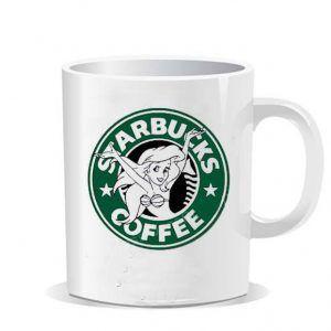 Starbucks Ariel The Little Mermaid Ceramic Mug