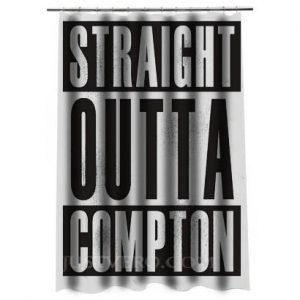Straight Outta Compton Shower Curtain