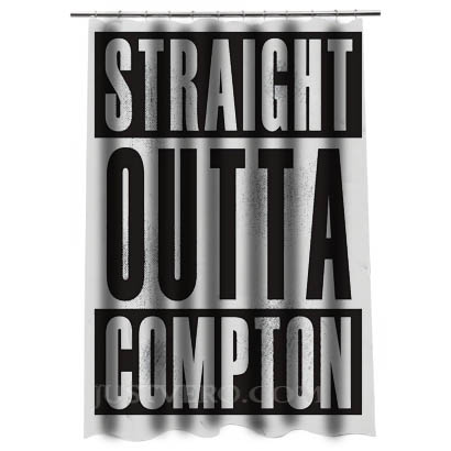 Straight Outta ComptonShower Curtain
