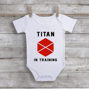Titan In TrainingBaby Onesie