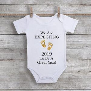 We Are Expecting 2019 To Be A Great YearBaby Onesie