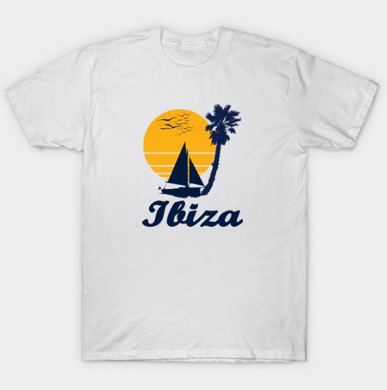 Ibiza Spain Spain Beach Party Tee Shirt