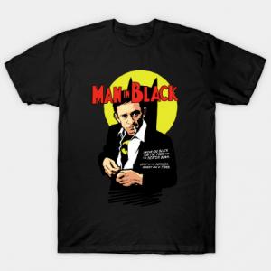 Man in Black Tee Shirt