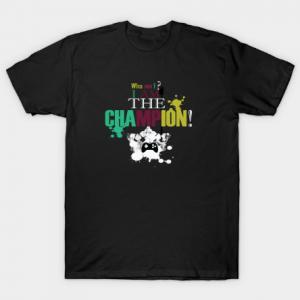 Who am I - I am the Champion Tee Shirt