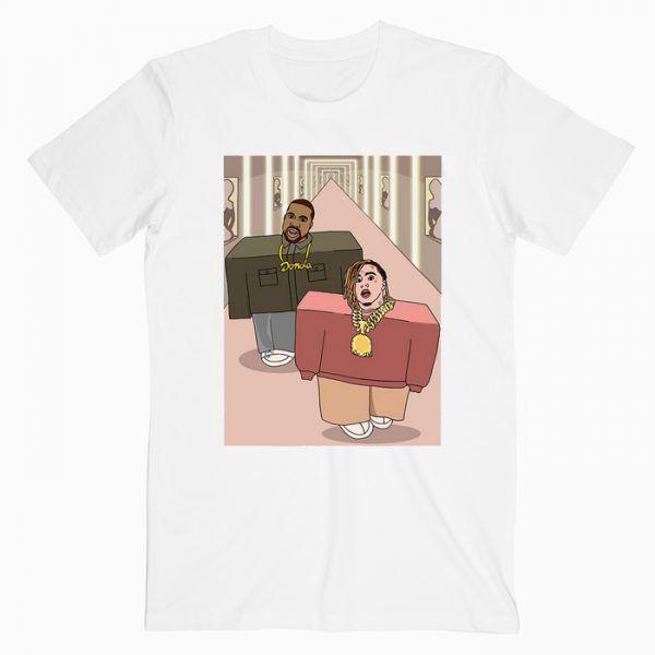 Lil Pump X Kanye West Tee Shirt