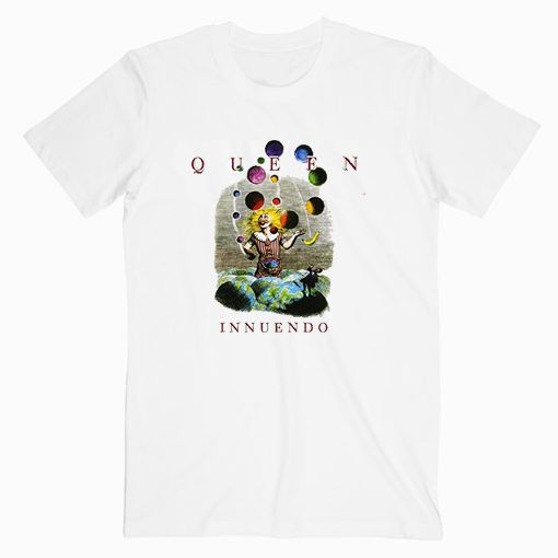 Queen Innuendo Album Cover Music Tee Shirt