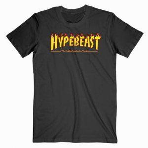 Hypebeast Tharsher Flame Tee Shirt