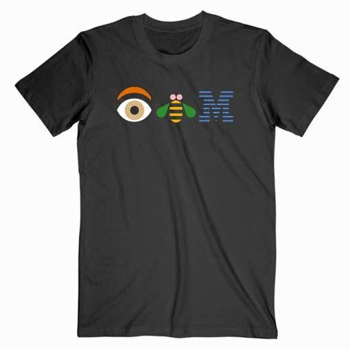 Eye Bee M Ibm Tee Shirt