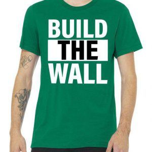 Build The Wall Box Logo Tee Shirt