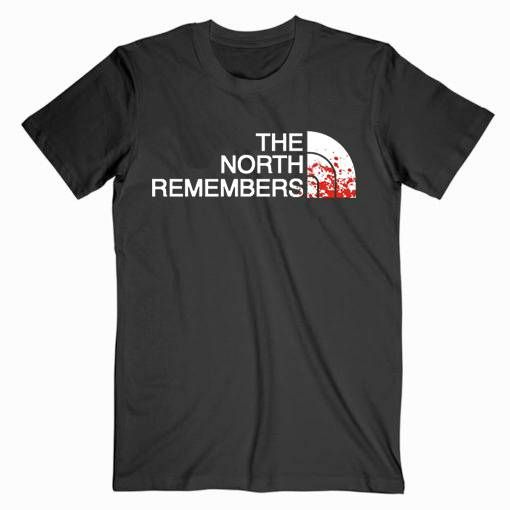The North Remembers Game Of Thrones Tee Shirt