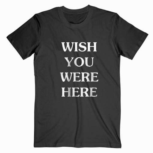 Travis Scoot Wish You Wish Here Tee Shirt