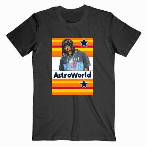 Travis Scoot Tee Shirt