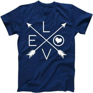 Valentines Day Love Arrows Tee Shirt
