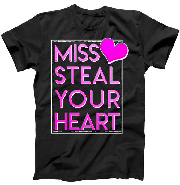 Miss Steal Your Heart Valentines Day Tee Shirt