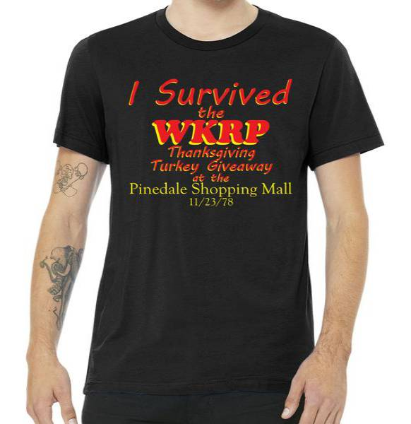 I Survived WKRP Pinedale Shopping Mall 1978 Tee Shirt