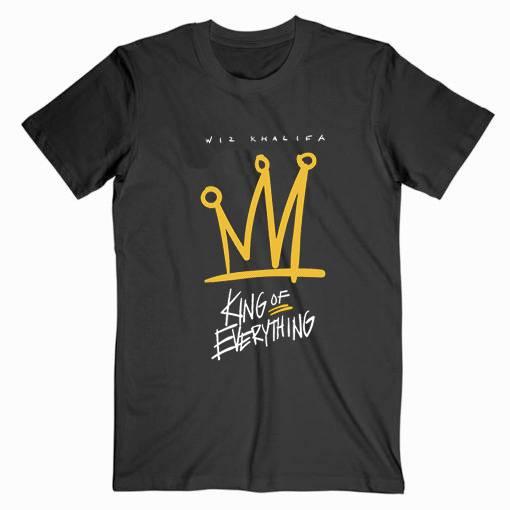Wiz Khalifa King of Everything Tee Shirt