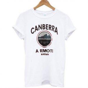 Canberra mountain Tee Shirt