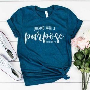 Created with a Purpose Tee Shirt