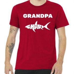 Grandpa Shark Tee Shirt