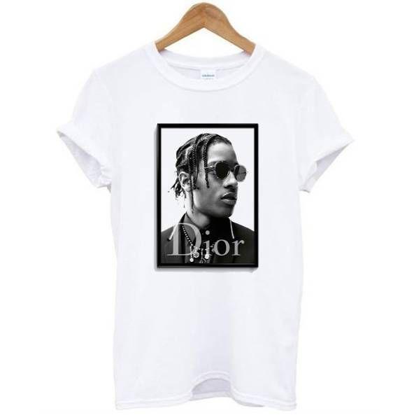 ASAP Rocky DIOR Tee Shirt