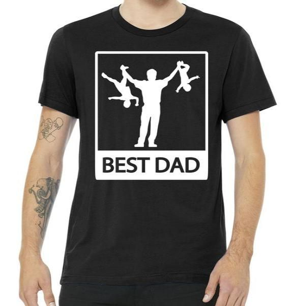 Funny Best Dad Tee Shirt