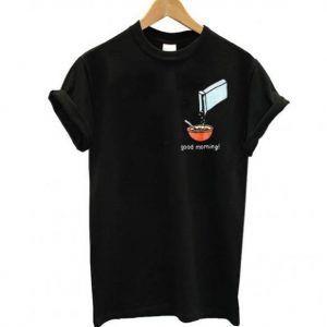 Mac Miller Good Morning Cereal Tee Shirt
