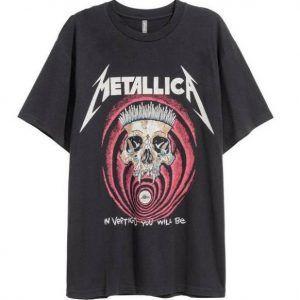 Metallica In VertigoTee Shirt