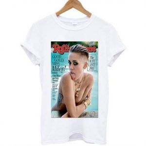 Miley Cyrus rolling stone cover Tee Shirt