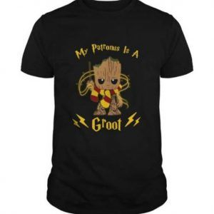 My Patronus Is A Groot Tee Shirt
