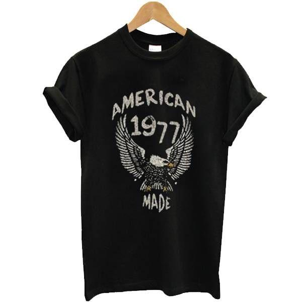 American Made 1977 Eagle vintage Tee Shirt