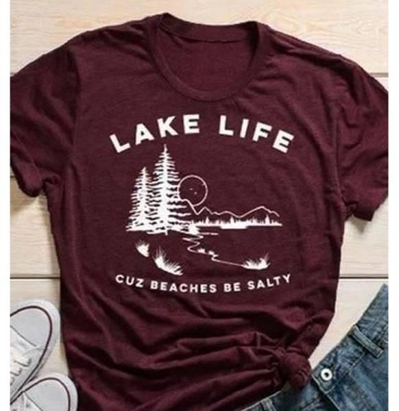 Classic Lake Life Tee Shirt