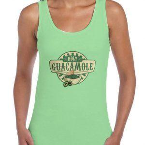 Holy-Guacamole-Green-Tank-Top